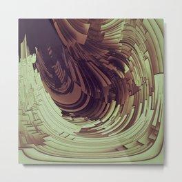 Plates I Metal Print