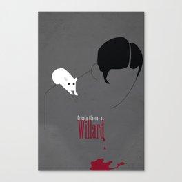 Willard Minimalist Poster Canvas Print
