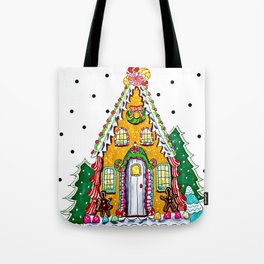 Gingerbread Welcome Tote Bag