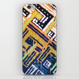 Abstract4 iPhone Skin