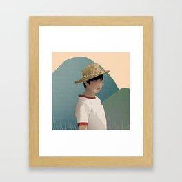 Chobi I Framed Art Print
