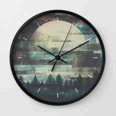 Children of the moon Wall Clock