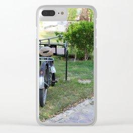 Cargo Bike Clear iPhone Case