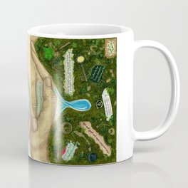 Ten of Cups (Amanda Palmer tarot deck) Coffee Mug