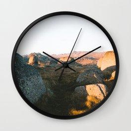 First Light on Rams Head III Wall Clock