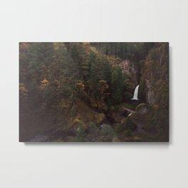 Wahclella Falls Metal Print