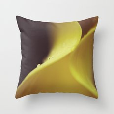 Calla Lilly AbstractII Throw Pillow