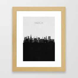 City Skylines: Karachi Framed Art Print