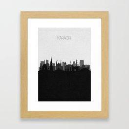 City Skylines: Karachi Framed Art Print