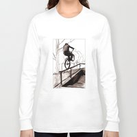 balance Long Sleeve T-shirts featuring Balance by Jonas Ericson