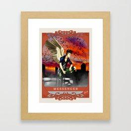 Wings Of Faith : Messenger Framed Art Print