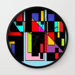 Muchos colores Wall Clock