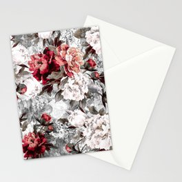 Watercolor Roses Stationery Cards