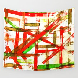 Color Straight Wall Tapestry