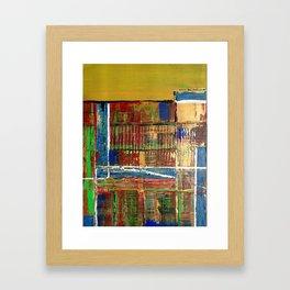 Earth Book Framed Art Print