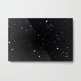 Midnight Snowfall Metal Print
