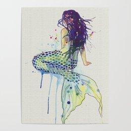Mermaid - Natural Poster