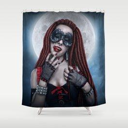 Moon Lust Shower Curtain