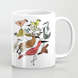 Birds Stacked on Birds Coffee Mug