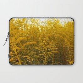 Gold Goldenrod Laptop Sleeve