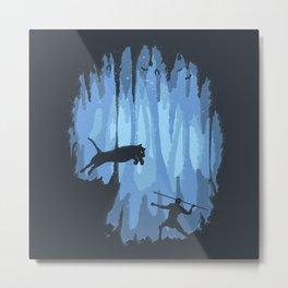 Grotto Metal Print