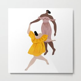 Apiece Apart Dance Metal Print