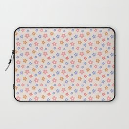 Colourful Floral Pattern Laptop Sleeve