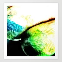 tye dye Art Prints featuring dye by Jamie Bryant