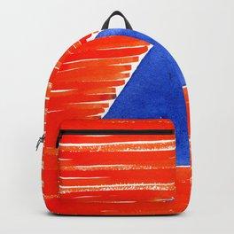 orange desert Backpack