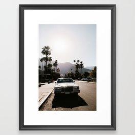 Palm Springs Classic Framed Art Print