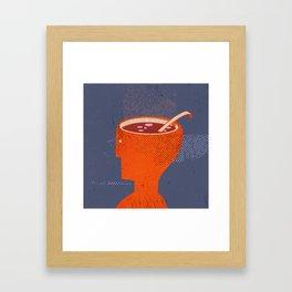 souphead Framed Art Print