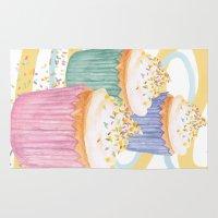 sprinkles Area & Throw Rugs featuring Sprinkles by Hayley Bowerman Design