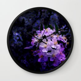Flower_27 Wall Clock