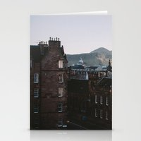 edinburgh Stationery Cards featuring Edinburgh, Scotland by norakathleen