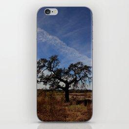 Lone Oak Tree, Laguna de Santa Rosa, Sonoma County iPhone Skin