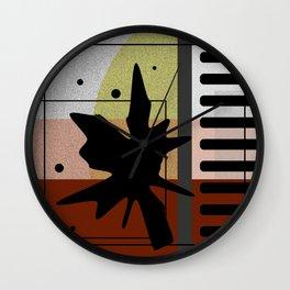 Noisy Dots Wall Clock