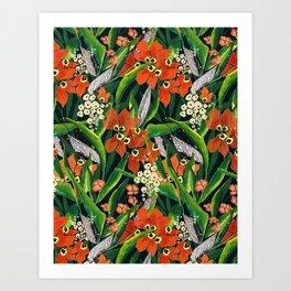 Lush Print Art Print