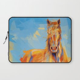 Obedient Spirit - Horse portrait Laptop Sleeve