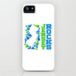 Jersey Rocks iPhone Case