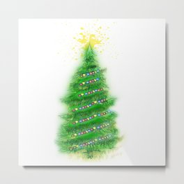 Christmas Tree 2 Metal Print