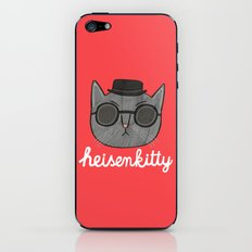 Heisenkitty iPhone & iPod Skin