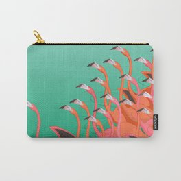 Fresco of the flamingoes. Carry-All Pouch