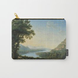 The River Volturno in the Italian Apennines by Jakob Philipp Hackert Carry-All Pouch