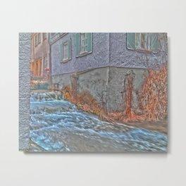 River Blau - Ulm ( Fischerviertel ) Metal Print