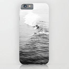 LETS SURF VIII / Manhattan Beach, California iPhone Case