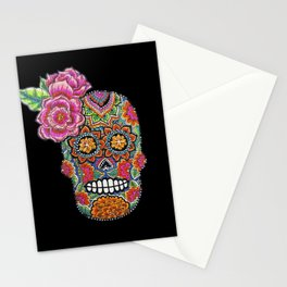 MEIXICAN SKULL Stationery Cards