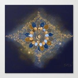 Treble Cosmos Canvas Print