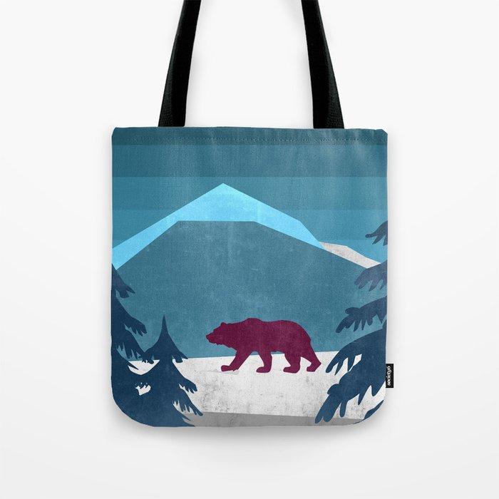 Bear pride walk Tote Bag