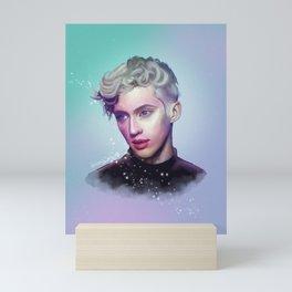 Troye Sivan | Digital Painting Mini Art Print