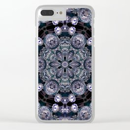 crystal star 1 Clear iPhone Case